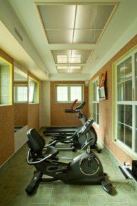 фитнес центр Обертайх, тренажеры в кардиозале